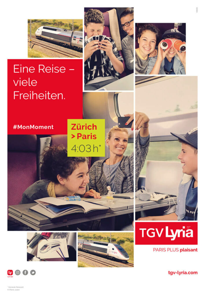 TGVLyria – Raphael Monsch - Art Director - Konzepter - Cross Media Kampagne