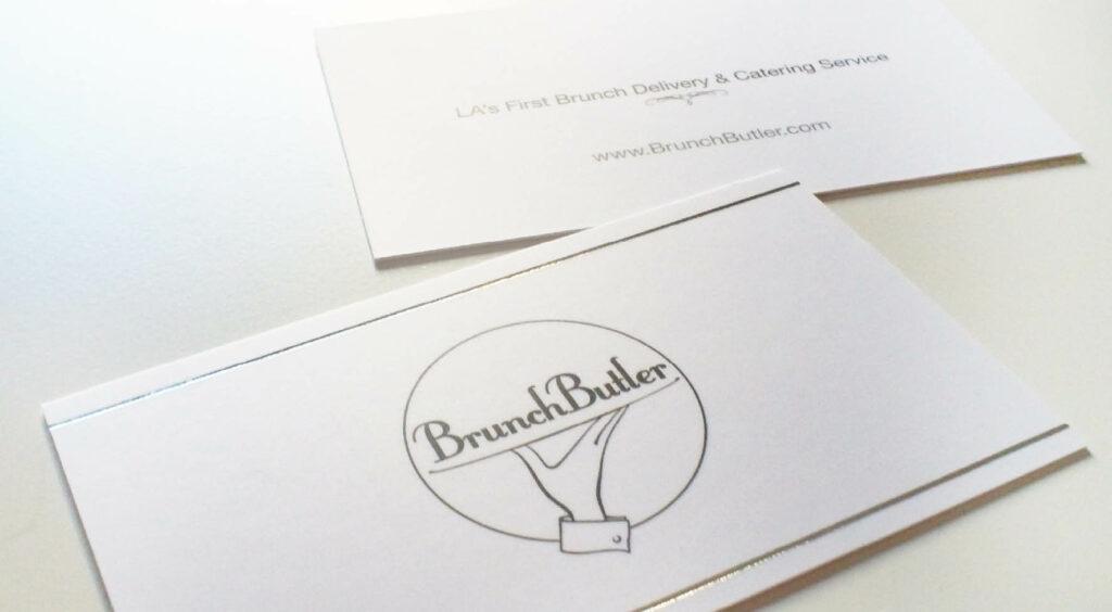 BrunchButler – Raphael Monsch - Art Director - Konzepter - Visitenkarte