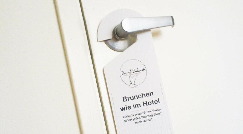 BrunchButler – Raphael Monsch - Art Director - Konzepter - Doorhanger