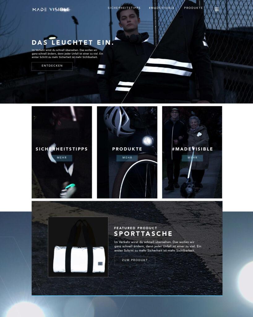 Made Visible – Raphael Monsch - Art Director - Konzepter - Cross Media Kampagne