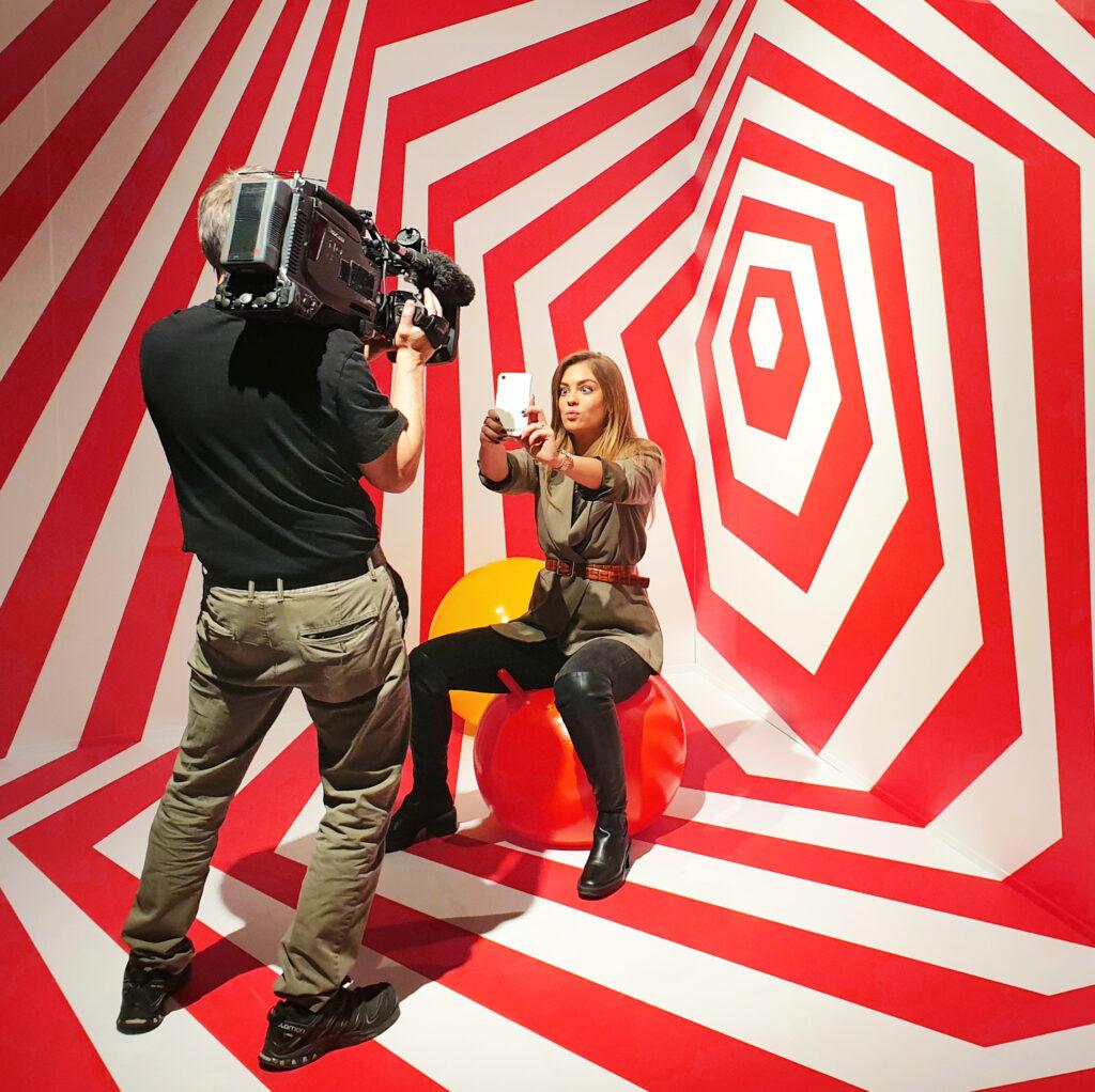 Selfie House Innenenansicht – Raphael Monsch - Art Director - Konzepter