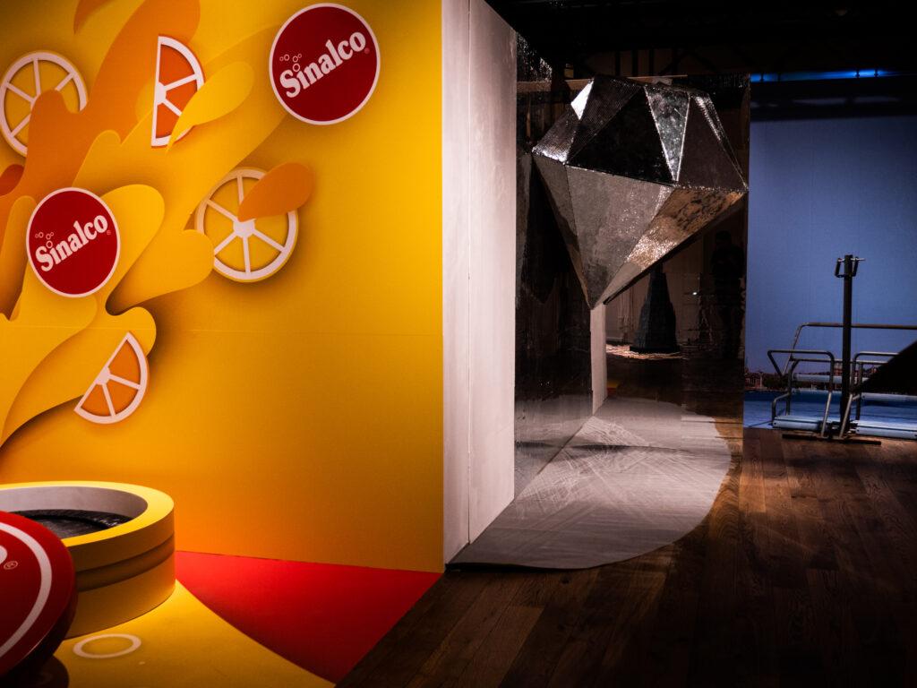 Selfie House Innenansicht – Raphael Monsch - Art Director - Konzepter - Pop-Up - Sinaclo
