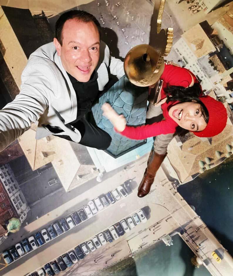 Selfie House Innenansicht – Raphael Monsch - Art Director - Konzepter - Pop-Up